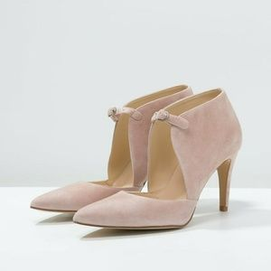 Free People Cerow Heels Pointy Toe Ankle Strap